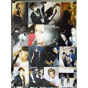 24 16 view collage SuJu Korean boy band (sent from USA in PVC pipe