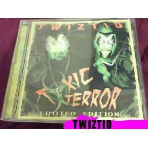 Twiztid Toxic Terror Cd Limited Edition From 2008 Concert: TWIZTID