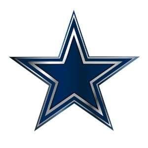 Dallas Cowboys NFL Football Team Blue & Chrome Plated Premium Metal