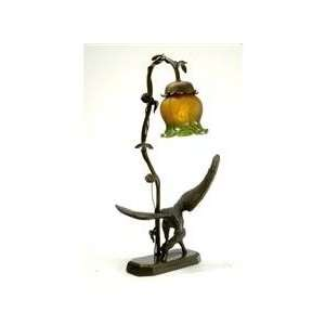 Meyda Tiffany 102411 Eagle Amber / Green / Bronze Tiffany Single Light