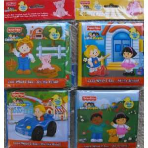 Price Little People Bath Time Bubble Books (Set of 4) Toys & Games