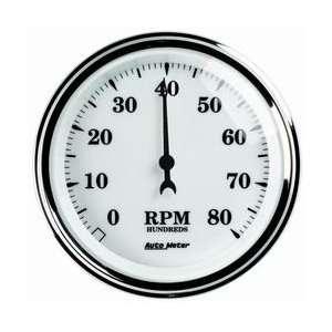 Auto Meter 1297 3 3/8IN O/T/W II TACH Automotive