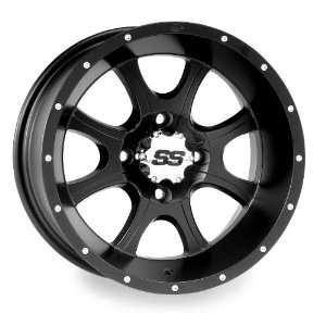 SS108 Wheel   12x7   4+3 Offset   4/137   Black, Wheel Rim Size: 12x7