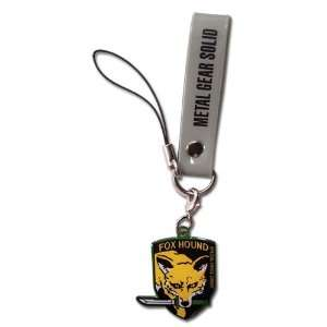 Metal Gear Solid Snake Eater Foxhound Cell Phone Charm