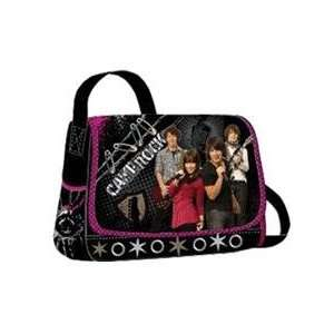 Jonas Brothers Black Messenger Bag: Office Products