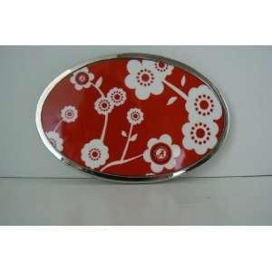 Ncaa Alabama Crimson Tide Flower Belt Buckle Everything