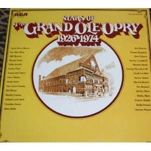 STARS OF GRAND OLE OPRY 1926 1974 [Double LP, Original recording