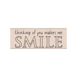 Wood Block You Make Me Smile by Hero Arts: Home & Kitchen