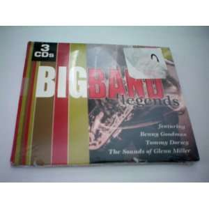 Big Band Legends    3 CDs    featuring Benny Goodman, Tommy Dorsey