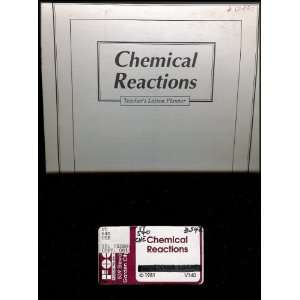 Chemical Reactions VHS Video and Teachers Lesson Planner