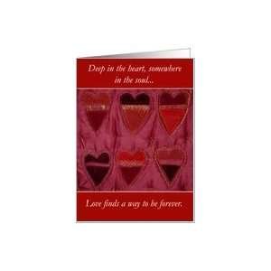Deep in the Heart   Anti Valentine Card Health & Personal