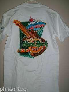 Hard Rock Cafe LAS VEGAS HEAVY City T Shirt Men X SMALL