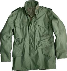 ALPHA M65 Field Jacket Olive Green XS,S,M,L,XL,2X,3X