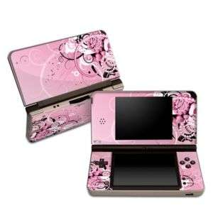 Nintendo DSi XL Skin Cover Case Decal Pink Hearts
