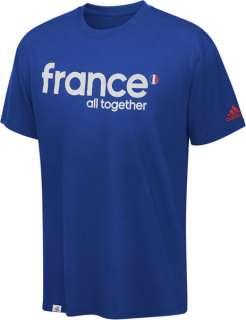 France Soccer adidas Soccer UEFA Euro 2012 All Together T Shirt