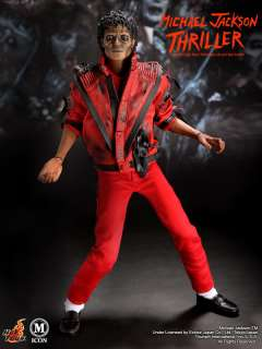 Hot Toys Michael Jackson Thriller Zombie Red Jacket 1/6