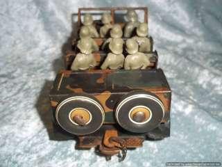 Pre WW2 Tipp & Co. Half Track & Field Gun