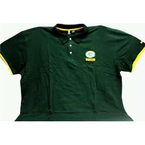 Encore Select Appl GBMensPolo Green Bay Packers Mens Polo