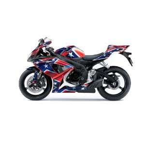 AMR Racing Suzuki Gsxr 600/750 Sport Bike Graphic Kit Graphic Decal