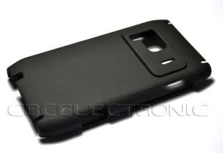 New Black Rubberized Hard case back cover for Nokia N8
