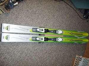 New Rossignol Bandit Fat Powder Skis 174 cm Demo Bindings Womens