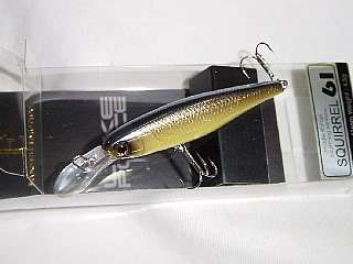 Jackall Bros Lake Police Squirrel 61 Noike Shad