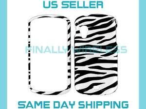 Black & White Zebra Design Case Cover for Samsung Stratosphere i405