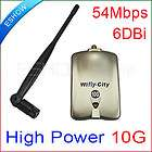 54Mbps WiFi Wireless Network Card Adapter 1000mW USB High power 10G