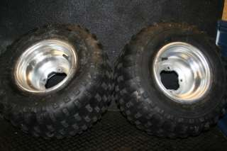 Yamaha YFZ450 YFZ 450 Stock rear wheels RIms Tires