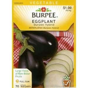 Burpee 55749 Eggplant Burpee Hybrid Seed Packet Patio