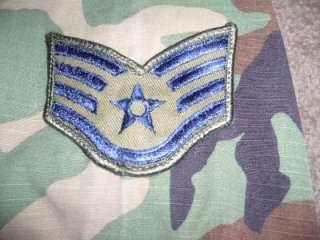 Military BDU Shirt Camo Cargo US ARMY USAF Medium Short Men Boys