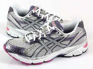Asics Gel 1160 White/Lightning/Plum Stability Running 2011 Womens