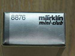 MARKLIN MINI CLUB 8876 Z SCALE MODEL TRAIN LOCOMOTIVE