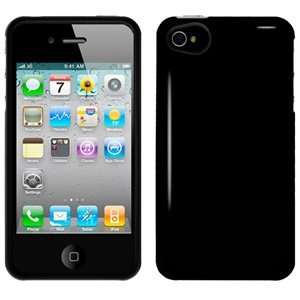 New Amzer Injecto Snap Hard Case Black For Iphone 4 Cdma
