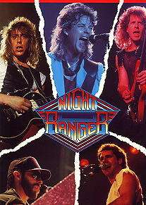 NIGHT RANGER 1985 7 WISHES TOUR PROGRAM CONCERT BOOK
