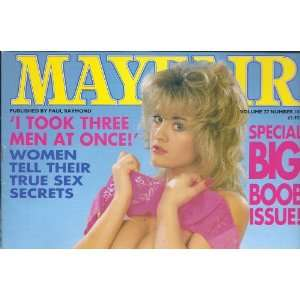 27 NUMBER 10 DREW BARRYMORE: MAYFAIR MAGAZINE. PAUL RAYMOND: Books