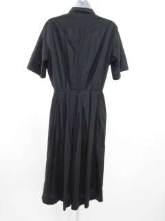 young black pleated shirt waist dress this totally fabulous vintage