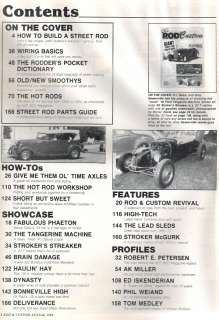ROD & CUSTOM BY HOT ROD 1984