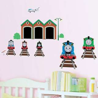 THOMAS THE TRAIN FRIENDS Decor Mural Art Wall Sticker