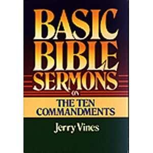 Basic Bible Sermons on the Ten Commandments (Basic Bible