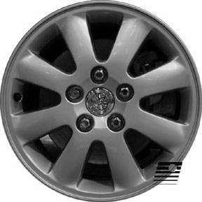 Toyota Camry 2002 2004 16 inch COMPATIBLE Wheel, Rim