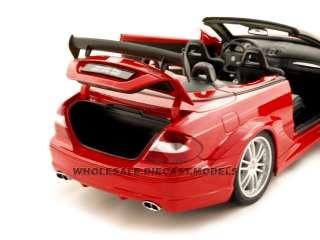 MERCEDES BENZ CLK DTM AMG RED 118 DIECAST CAR KYOSHO