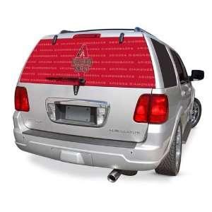 Arizona Diamondbacks Rear Window Rearz Sticker   Decal