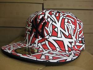 NEW ERA 59 FIFTY NEW YORK YANKEES RED WHITE BLACK