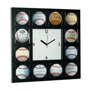 New York Yankees Signed Baseball Clock Ruth Mantle Ford