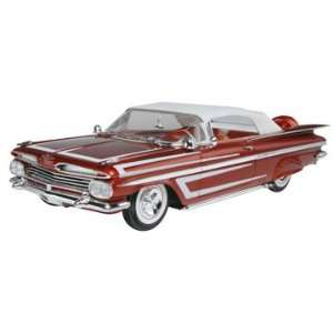 25 1959 Chevy Impala Convertible 2n1 Car Model Kit Toys & Games