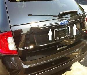 11 12 FORD EDGE CHROME REAR TRUCK HATCH TRIM MOLDING 2011 2012