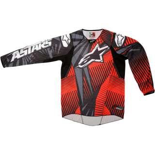 ALPINESTARS 2012 TECHSTAR MX SHIRT MOTOCROSS OFF ROAD ENDURO DIRT BIKE