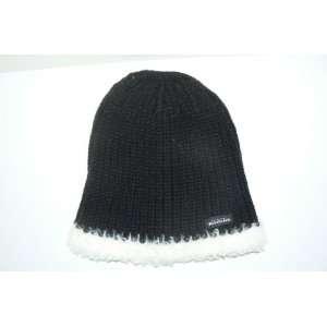 Ravens Womens Knit Beanie Ski Skull Cap Hat Lid Toque