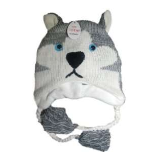 Knit Husky Brand New Wolf Animal Hat High Quality acyrlic
